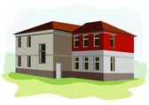 旧校舎 — ストックベクタ