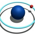Hydrogen atom — Stock Photo #7428473