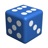 Playing dice — Stock Photo