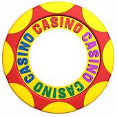 Casino chip — Stock Photo