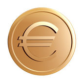 Gold coin — Stock Photo