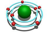 Nitrogen atom — Stock Photo