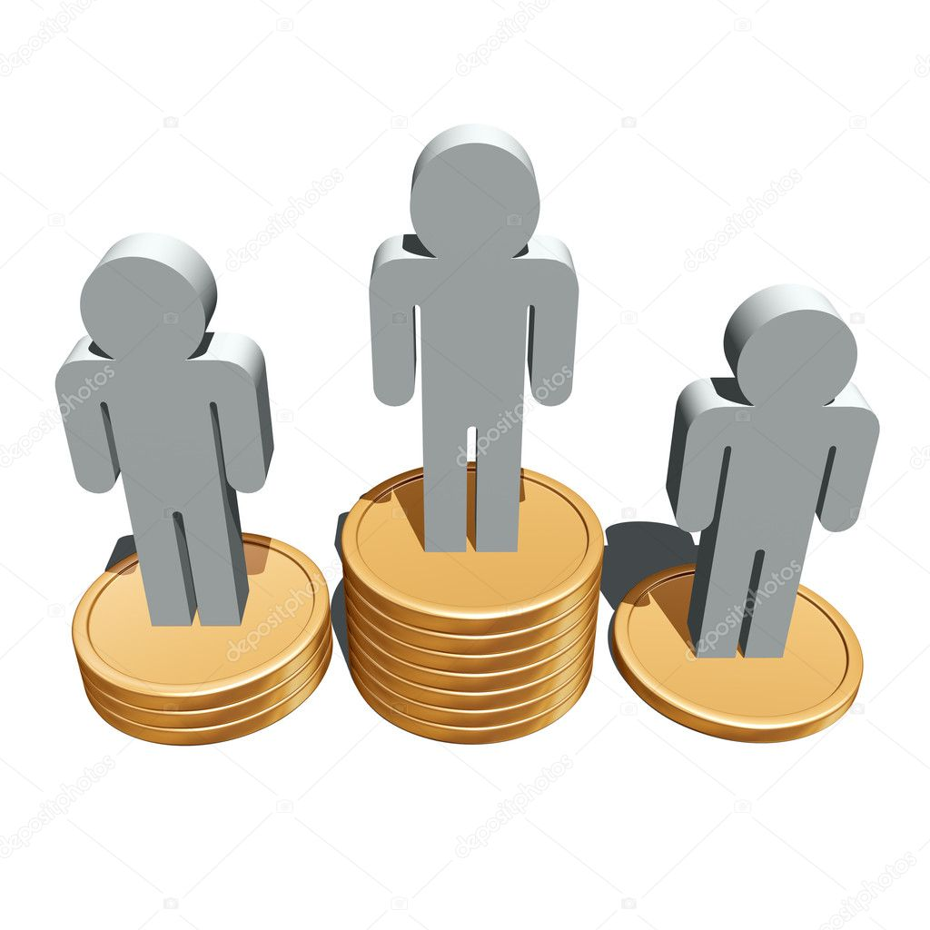3d illustration of business success symbol — Stock Photo #7427798