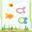 Stock Vector: Fishes