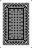 トランプのカードの裏面 60 × 90 mm — ストックベクタ