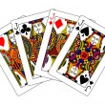 Jacks poker — Stock Photo
