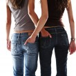 Two sexy girl friend — Stock Photo #7806388