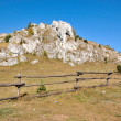 Limestone rock — Stock Photo