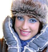 Winter girl — Foto Stock