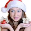 Christmas girl — Stock Photo #7942296