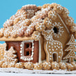Christmas gingerbread house — Stock Photo #7413917