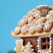 Christmas gingerbread house — Stock Photo #7413934