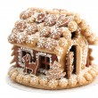 Christmas gingerbread house — Stock Photo #7413937
