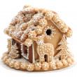 Christmas gingerbread house — Stock Photo #7413939