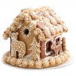 Christmas gingerbread house — Stock Photo #7413945