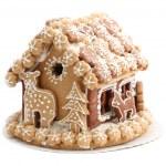 Christmas gingerbread house — Stock Photo
