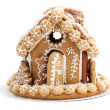 Christmas gingerbread house — Stock Photo #7413948