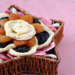 Dried fruits in a basket — Stock Photo #7414195