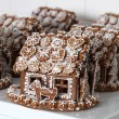 Christmas gingerbread houses — Stock Photo