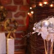 White Christmas decoration — Stock Photo