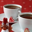 Coffee with hearts — Stock Photo #7436555