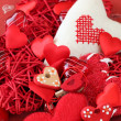 Heart decorations — Stock Photo