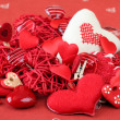 Heart decorations — Stock Photo #7436900