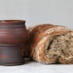 Wine and bread — Stock Photo #7438399