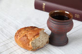 Holy communion — Foto de Stock