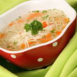 Chicken or turkey soup — Stock Photo #7441347