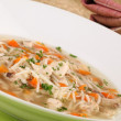 Chicken soup — Stock Photo #7441378