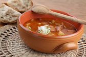 Goulash soup — Stock Photo