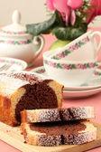 Marble cake — Stock Photo