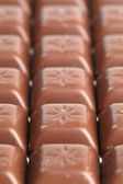 Milk chocolate pralines — Stock Photo