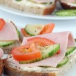 Royalty-Free Stock Photo: Healthy sandwiches
