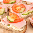Healthy sandwiches — Stock Photo #7460846