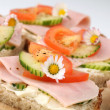 Healthy sandwiches — Stock Photo #7460848
