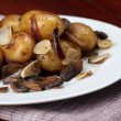 roasted potatoes — Stock Photo