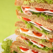 Sandwich tower — Stock Photo