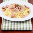 Stock Photo: Slovak national food - Halushky
