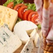 Stock Photo: Cheese board