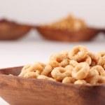 cereales miel y chocolate — Foto de Stock