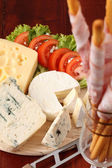 Cheese board — Stock Photo