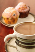 Coffee and muffins — Foto de Stock