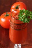 Tomato juice or Bloody Mary — Stock Photo