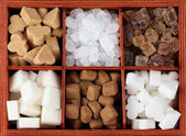 Sugar collection — Stock Photo