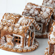 Christmas gingerbread houses - Stock Photo