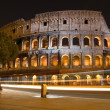 Colosseum in Rome, by night - Photo