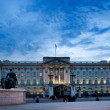 Stock Photo: Buckingham Palace by night