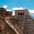 Mayan ruins in Chichen Itza. — Stock Photo